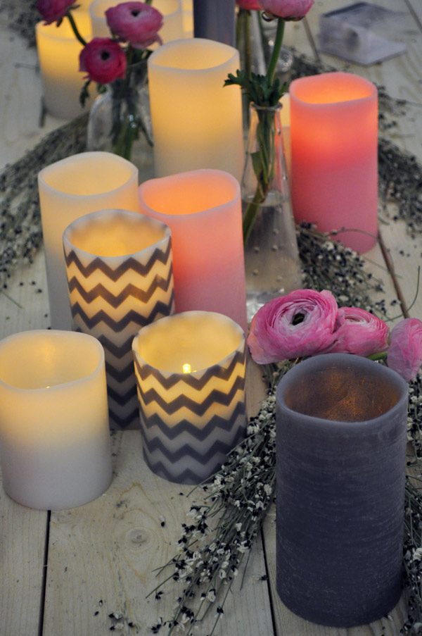 Enjoy Candles batteri ledljus hos inreda.com