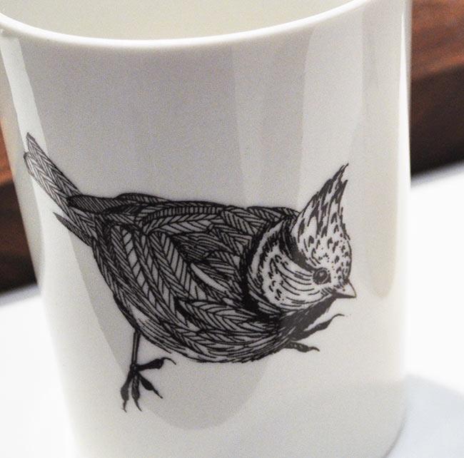 Otto Cup nordiska fåglar från By Nord