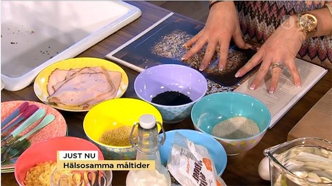 Produkter från inreda med i TV4 Nyhetsmorgon