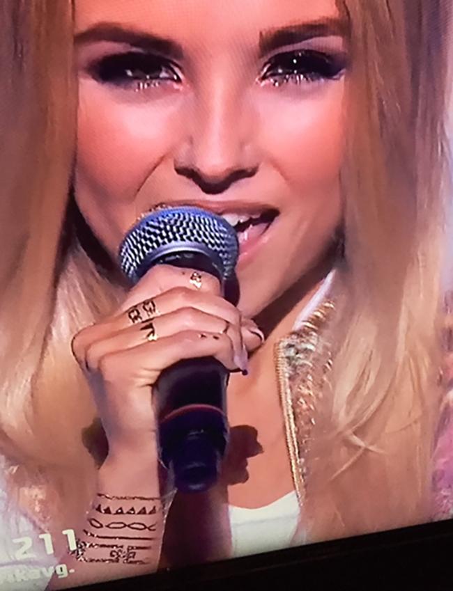 Såg du Skin Bling på Isa i Melodifestivalen?