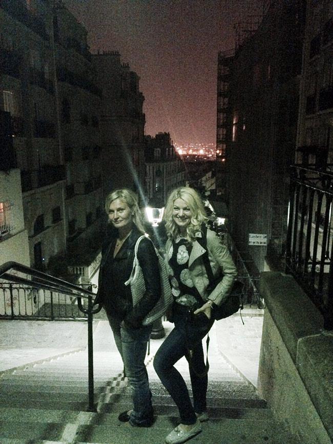 En kväll i Montmartre Paris
