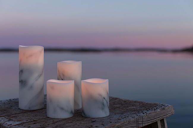 Carrara Marble från Enjoy Candles, höstens nyhet är här!