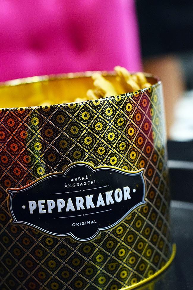 Guld – årets färg på pepparkaksburken