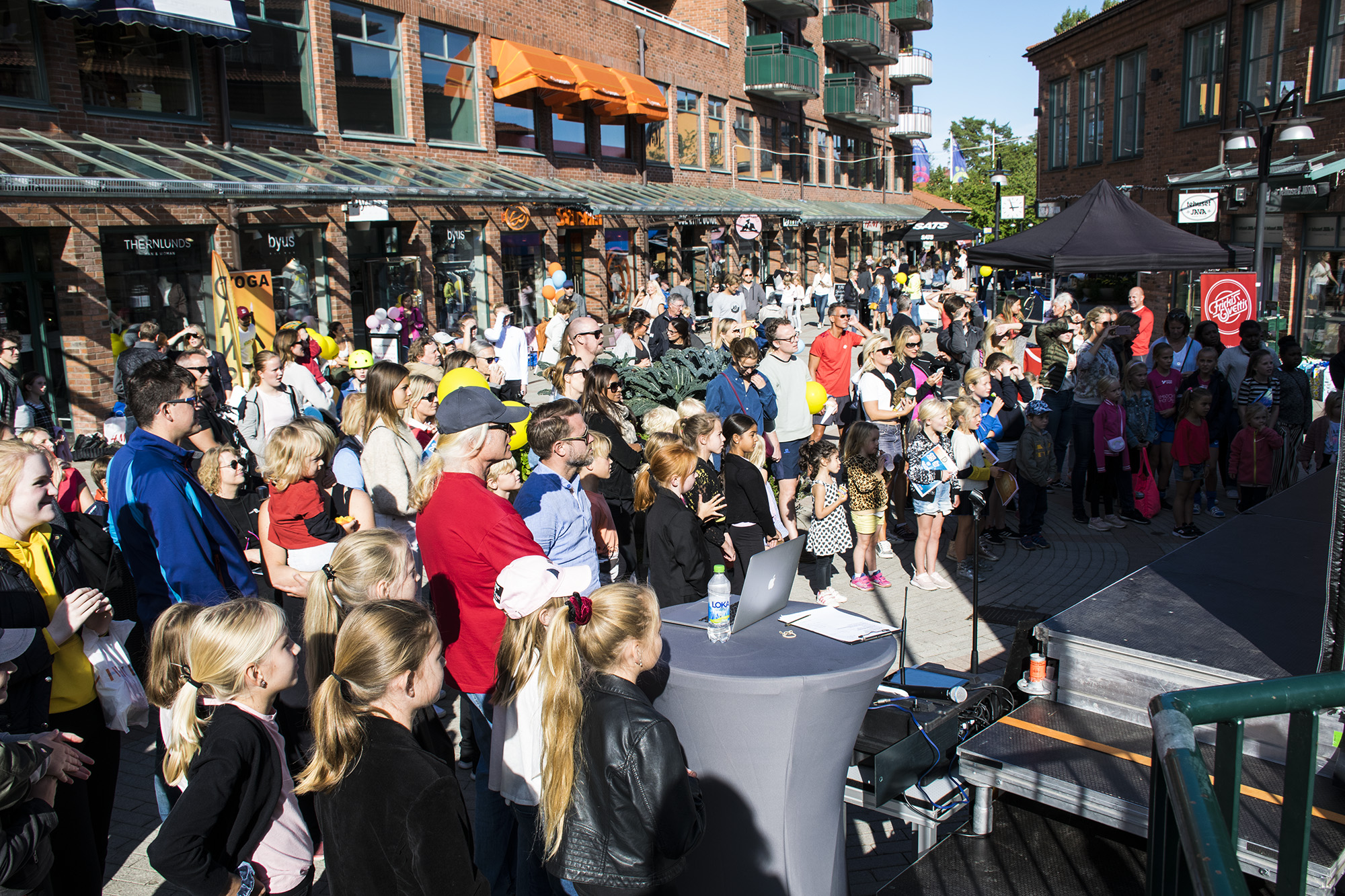 Event i Lidingö Centrum, fotograf Annelie Persson inreda.com