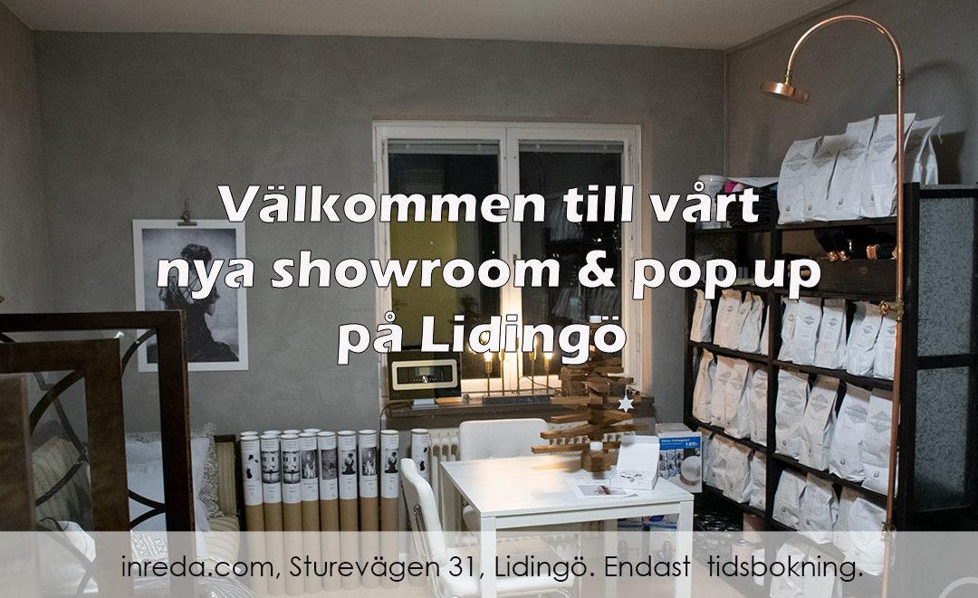 Pop Up & Showroom – inreda.com shoproom, Sturevägen 31 Lidingö